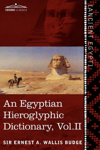 An Egyptian Hieroglyphic Dictionary